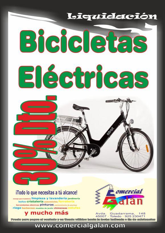 ¡¡¡ LIQUIDACIÓN BICICLETAS ELÉCTRICAS !!!