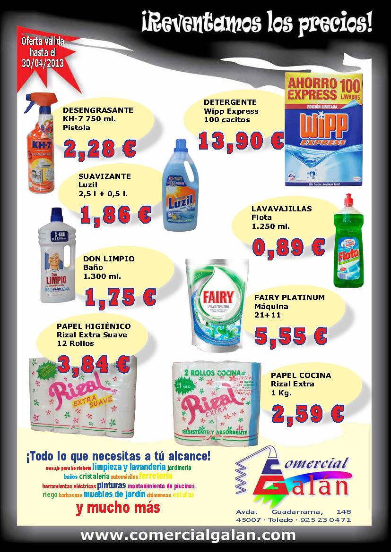 ¡Reventamos los Precios! Mayo-Junio 2013