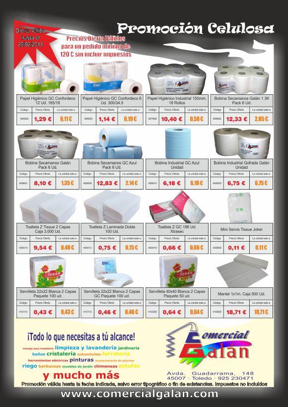 Promoción Celulosa Enero-Febrero 2014