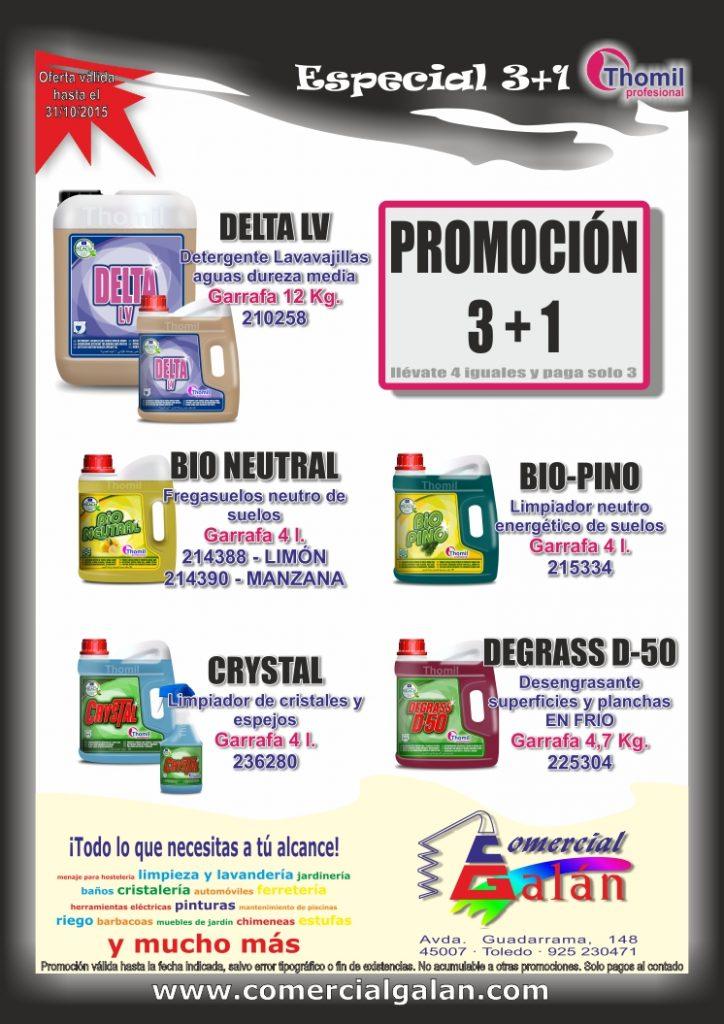 Promoción THOMIL 3+1