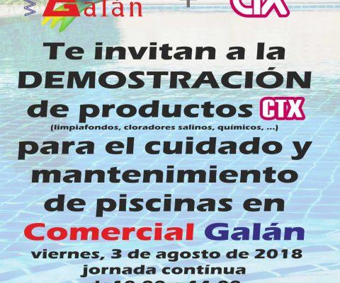 Demostración CTX Limpiafondos Cloradores Salinos